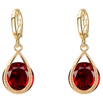 Red Diamond hoops