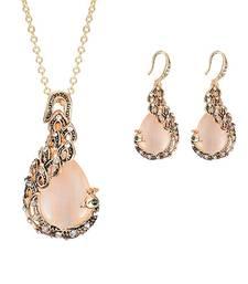 Buy Beige Cubic Zirconia pendants Pendant online