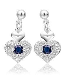 Buy Royal Appealing Heart Earrings danglers-drop online
