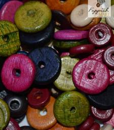 Buy Assorted Wooden Beads stationery online