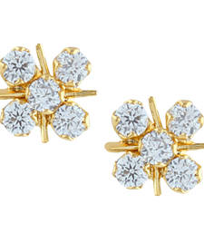 Buy White american diamonds earrings stud online