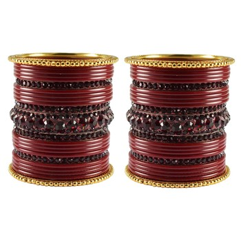 Multicolor Studded Jewellery Crystal Bangles And Bracelets