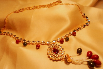 Fashion trendy gold plated indian bollywood waistbelt