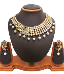 Buy Mayur Necklace Set Necklace online