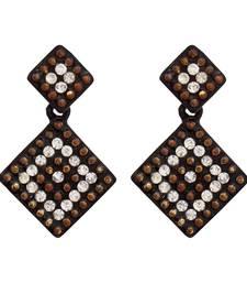 Buy Small Prety Black diamond Earring danglers-drop online