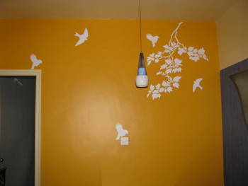 Medium Birds On Flight Wall Decal Nature