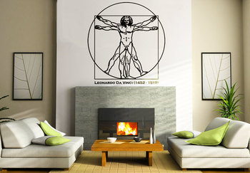 Large Human Anatomy Wall Decal Modern Graphic