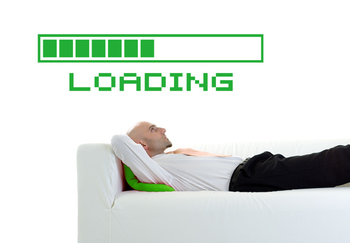 Large Loading Bar Wall Decal Modern Graphic