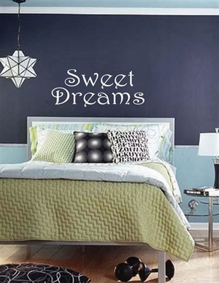 Large Sweet Dreams Wall Decal Quotes