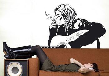 Large Kurt Cobain Wall Decal Modern Graphic