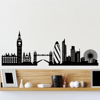 Medium London Dreams Wall Decal Modern Graphic