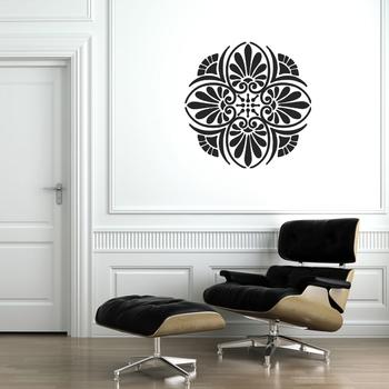 Medium Floral Elegance Wall Decal Modern Graphic