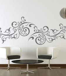 Buy Medium Scroll Vines Wall Decal Modern Graphic wall-decal online