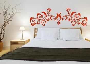 Medium Glamorous Vine Wall Decal Modern Graphic