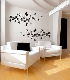 Small Butterflies And Branches Wall Decal Nature