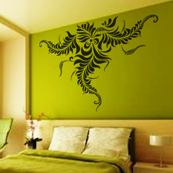 Small Creative Flower Wall Decal Nature