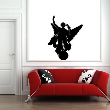 Medium Angel Wall Decal Modern Graphic