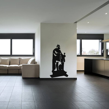 Large Moses Wall Decal Modern Graphic