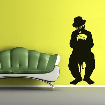 Medium Charlie Chaplin Wall Decal Modern Graphic
