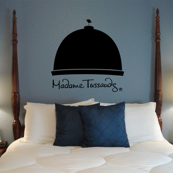 Large Madam Tussauds Wall Decal Modern Graphic