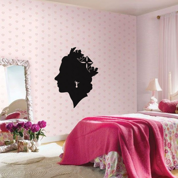 Large Queen Victoria Wall Decal Modern Woman