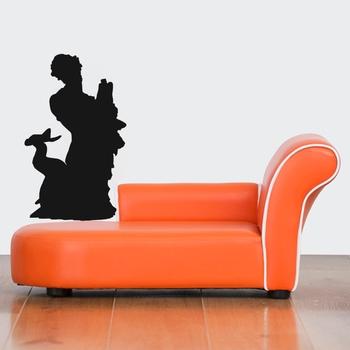 Small Merman Wall Decal Modern Graphic
