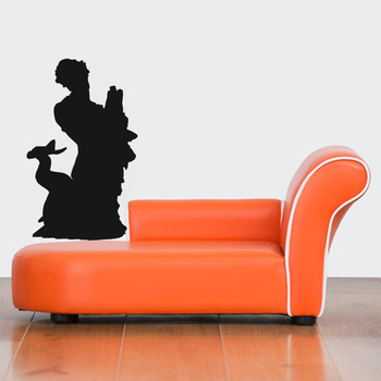 Medium Merman Wall Decal Modern Graphic