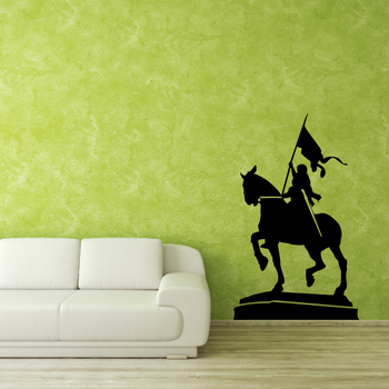 Small Warrior Queen Wall Decal Modern Graphic