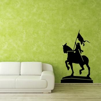 Medium Warrior Queen Wall Decal Modern Graphic