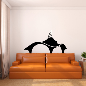 Small Amazing Architecture Wall Decal Modern Graphic