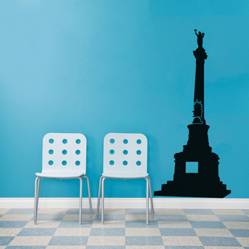 Small Statue Of Liberty Wall Decal Modern Graphic