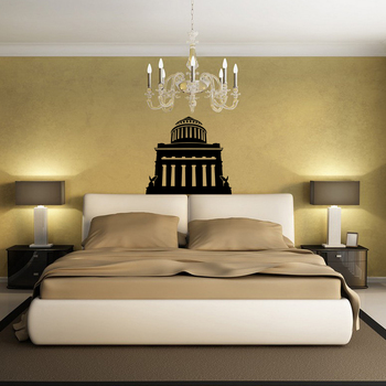 Medium Royal Palace Wall Decal Modern Graphic