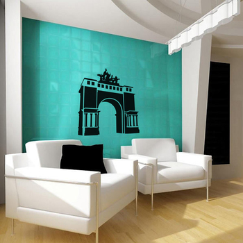 Large The Gateway Wall Decal Modern Graphic