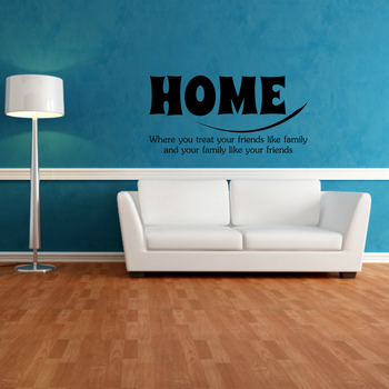 Large Home Quotes Wall Decal Quotes