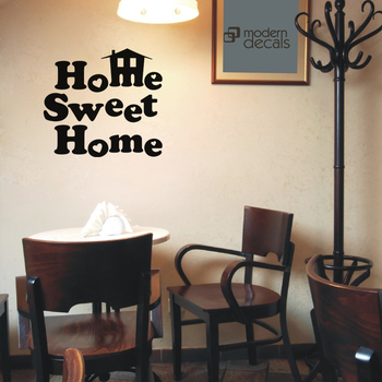 Small Home Sweet Home Wall Decal Quotes