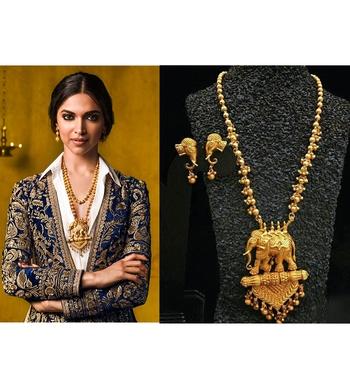 Bollywood Temple Jewellery set