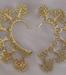 Buy Golden Brass ear-cuffs ear-cuff online