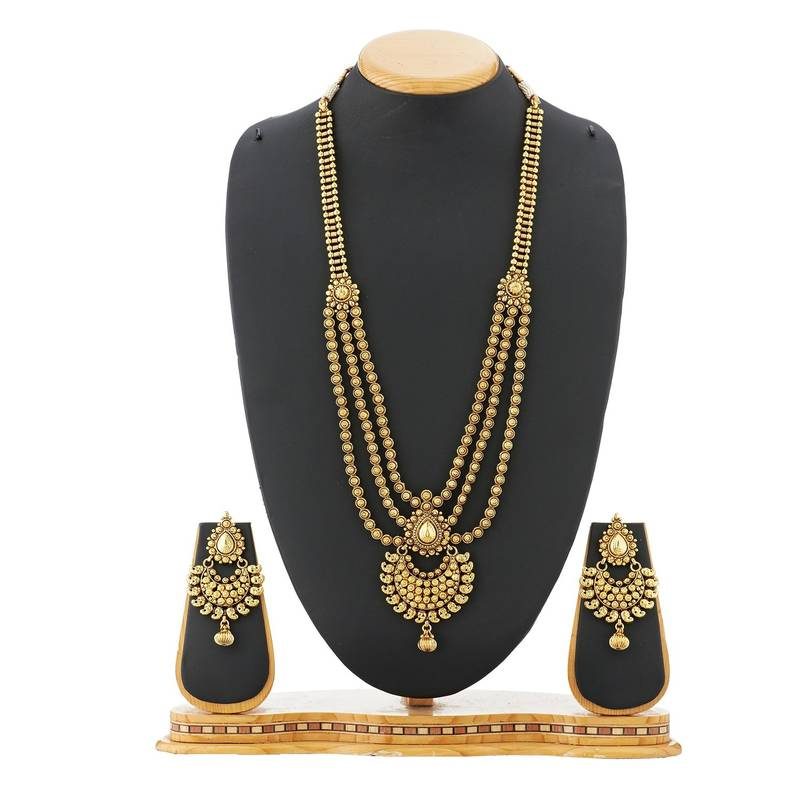 Artificial Jewellery Sets For Wedding: Buy Wedding Bridal Necklace Set Artificial Jewellery Online