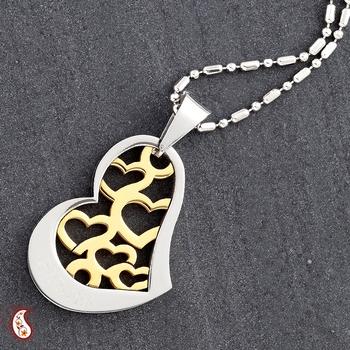 Heart n Heart Pendant