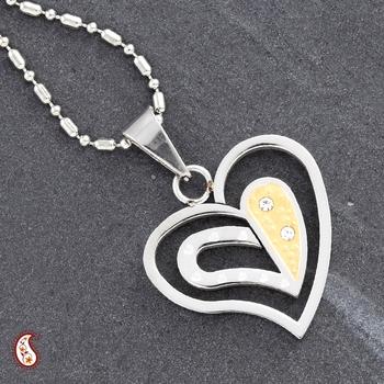 Unique design Heart Pendant