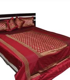 Buy Designer Brocade bed cover ramadan-gift online