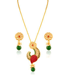 Buy Fashion Gold plated fusion set Pendant online