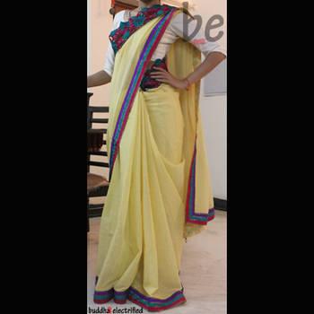 Ethnic Saree - Bold Moves