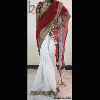 Ethnic Saree - Laal Doori