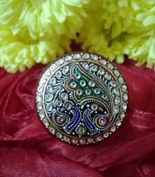 Buy tanjore art ring fashion-deal online