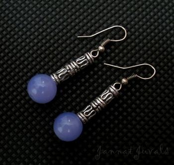 Cute Violet Earrings