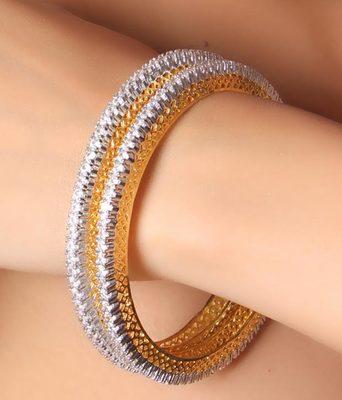 61e0decfacc032 American Diamond Bangles - Royalty - 128182