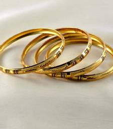 Buy CMDesigner gold platted bangles  bangles-and-bracelet online