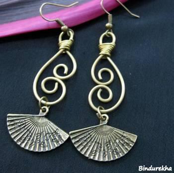 Wirework_Fan_Earrings