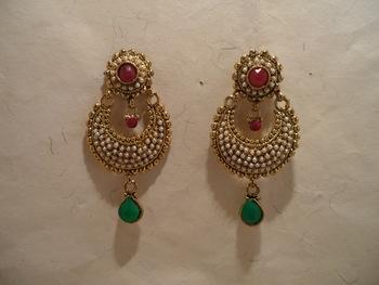 Multicoloured earrings